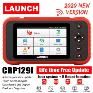 Launch X431 Crp129i Obd2 Scanner Engine Abs Srs Sas At Tpms Epb Diagnostic Tool