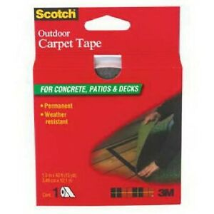 3m ct3010dc Scotch Outdoor Carpet Tape Ct3010 1 375 In X 13 3 Yd