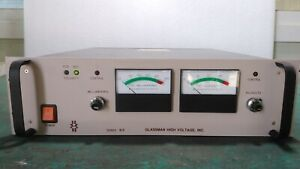 used Glassman High Voltage Ps Wx20n50 0y69 High Voltage Power Supply