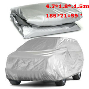 Waterproof Full Cover In Outdoor Dust Uv Ray Rain Snow Only Fit For Small Car