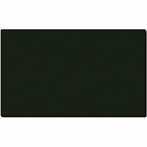Ghent 174 Fabric Bulletin Board With Wrapped Edge 48 w X 12 h Black