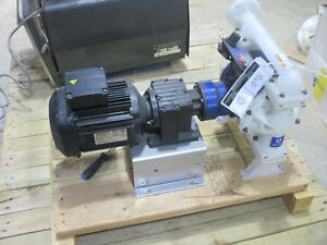 Husky Graco Electric Operated Diaphragm Pump Model 1050e 3 Phase Motor