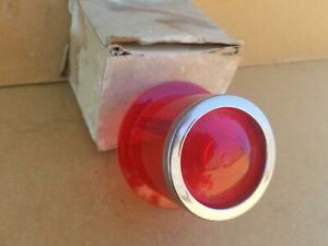 1 New 1962 Plymouth Valiant Tail Lense Nors Part 640 Glo brite