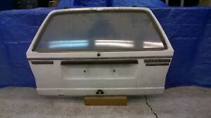 Vw Quantum Station Wagon Syncro Rear Hatch Deck Lid No Rust