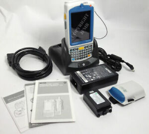 New Symbol Motorola Mc75a Wireless Barcode Scanner And Charger Bundle