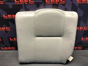 2006 Acura Rsx Type S Rsx S Oem Grey Leather Rear Seat Upper Section Driver
