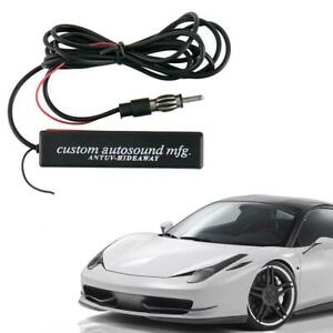 Electronic Auto Car Stereo Antenna Am Fm Radio Hidden Aerial Universal Amplified