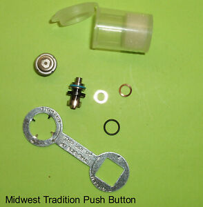 New Midwest Tradition Push Button Xgt Turbine Dental Handpiece W Button Wrench