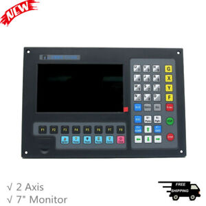 2 Axis Cnc Controller 7 Monitor For Plasma Cutting Machine Laser Flame Cutter