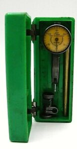 Federal Test Master T 2 0001 Inch Jeweled Dial Indicator c3