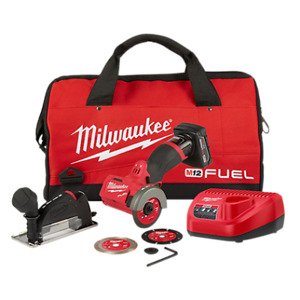Milwaukee Mlw2522 21xc M12 Cordless 3 Compact Cut Off Tool Kit