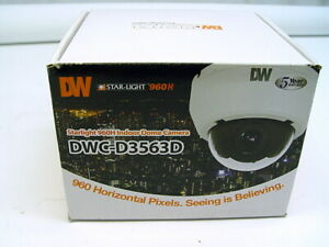 Digital Watchdog Starlight 960h Indoor Dome Camera Dwc d3563d