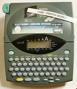 Brother P touch Extra Label Maker With Extra Unopened Tape Works Great
