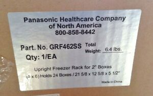 Panasonic Stainless Steel Upright Freezer Rack For 2 Boxes