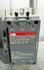Abb A145 30 11 84 Size 4 Motor Starter Contactor 120v Coil New