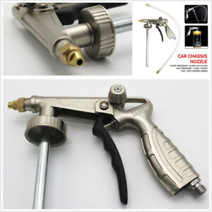 Car Undercoating Adjustable Spray Gun 1 4 Inch Air Inlet For 1 2kg Chassis Armor