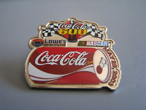 2003 COCA-COLA 600 LOWES MOTOR SPEEDWAY CHARLOTTE NASCAR RACING EVENT HAT PIN