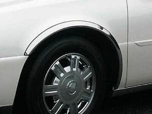 2000 2011 Cadillac Deville Dts Stainless Steel Wheel Well Fender Trim Wz40245