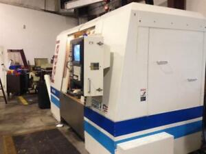 Fadal 4525 Cnc Vmc 53 5 x 25 Table 10k Rpm Spindle 14 7hp W full 4th Axis