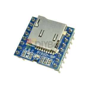 Micro Sd Tf U disk By8001 16p Module Mp3 Player Audio Voice Board For Arduino