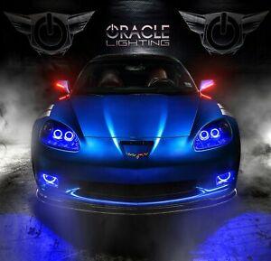 Oracle Lighting Chevy Corvette C6 Concept Led Side Mirrors Aerodynamic Design
