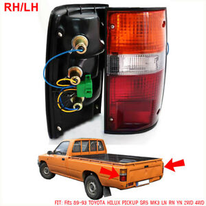 For Toyota Hilux Truck Pickup Rn80 Rn90 Rn100 Rn110 1988 98 Pair Tail Lamp Rear