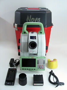 Leica Nova Ms60 1 R2000 Multistation Robotic Surveying One Month Warranty