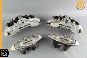 Mercedes W220 S55 Cl65 Amg Front And Rear Brake Caliper Calipers Set Brembo Oem
