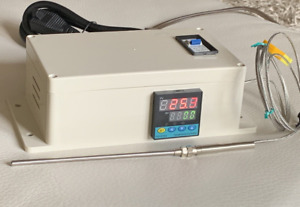 Plug Play Powder Coating Paint Temperature Controller Gas Oven 2 Tip Probe
