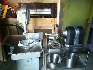Hobart Band Saw Grinder stainless Table Commercial Meat Processing Equipment