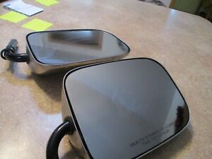 Pair Of 1990 Chevy Gmc Side Chrome Towing Only Mirrors 7 Tfc 90