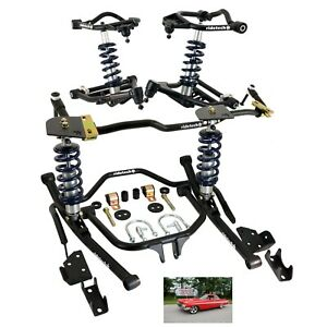Ridetech Coilover System For 1958 Impala coil Over Shocks sway Bars control Arms