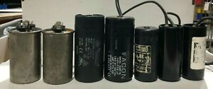 Set Of 7 Assorted Start Capacitor 1005