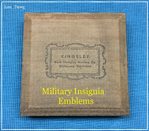 Kingsley Machine 20 military Insignia Emblems Hot Foil Stamping Machine