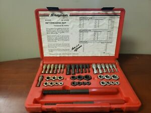 Snap On Rethreading Kit Rtd42 In Case C X
