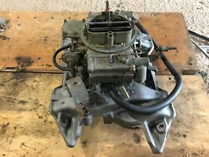 1970 Dodge Superbee Plymouth Roadrunner 383 Hp Holley Carburetor Intake Manifold