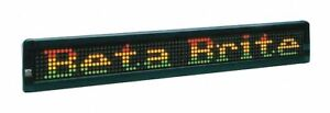Betabrite Led Message Display Sign 10361211 10361211 1 Each