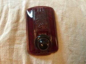 1940 Plymouth Chrysler Dodge Tail Light Lens Custom Scta Lead Sled Hot Rod Nos