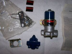 Holley Vintage Blue Fuel Pump New Old Stock Nos