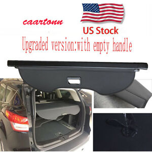 Retractable Rear Trunk Luggage Shade Cargo Cover Area For 2013 2020 Ford Escape