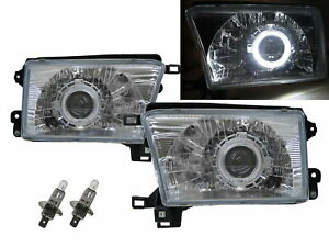 4runner N180 Mk3 95 02 Guide Led Angel Eye Projector Headlight Ch For Toyota Lhd