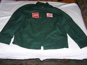 Unitog COCA COLA Green Employee Jacket DIET COKE 44R