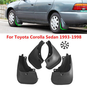4x Mud Flaps Splash Guards For Toyota Corolla Ae100 101 102 Na 93 97 Au Nz 94 99