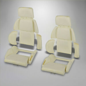 1989 1990 Corvette C4 Molded Sport Seat Foam 8 Piece Car Set 642209