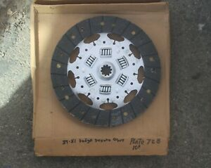 39 1940 41 1942 1946 47 1948 1950 1951 Dodge 728 Rebuilt 10 Clutch Disc br