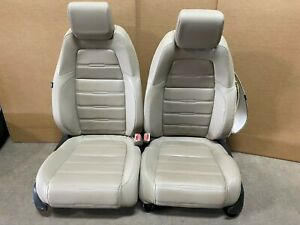 2015 Honda Cr V Crv Leather Bucket Seats Tan In Color W Heat