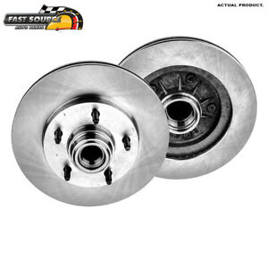 Front 308 Mm Brake Rotors For 1997 1998 1999 Ford F150 2wd Rear Wheel Abs