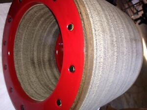 H Farmall Ih Rebuilt Flat Belt Pulley For Show Or Use h m W4 w6 650 And Others