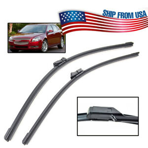 24 21 2pcs Front Window Windshield Wiper Blades Set For Chevy Malibu Traverse