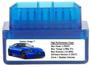 Stage 7 Performance Power Tuner Chip Add 95hp 8 Mpg Obd Tuning For Gm Cars